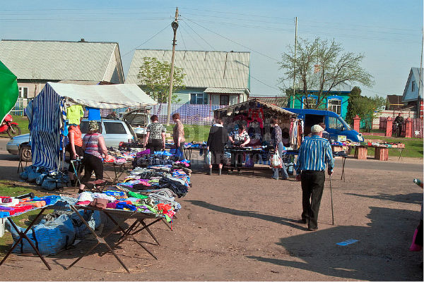 Рынок в селе