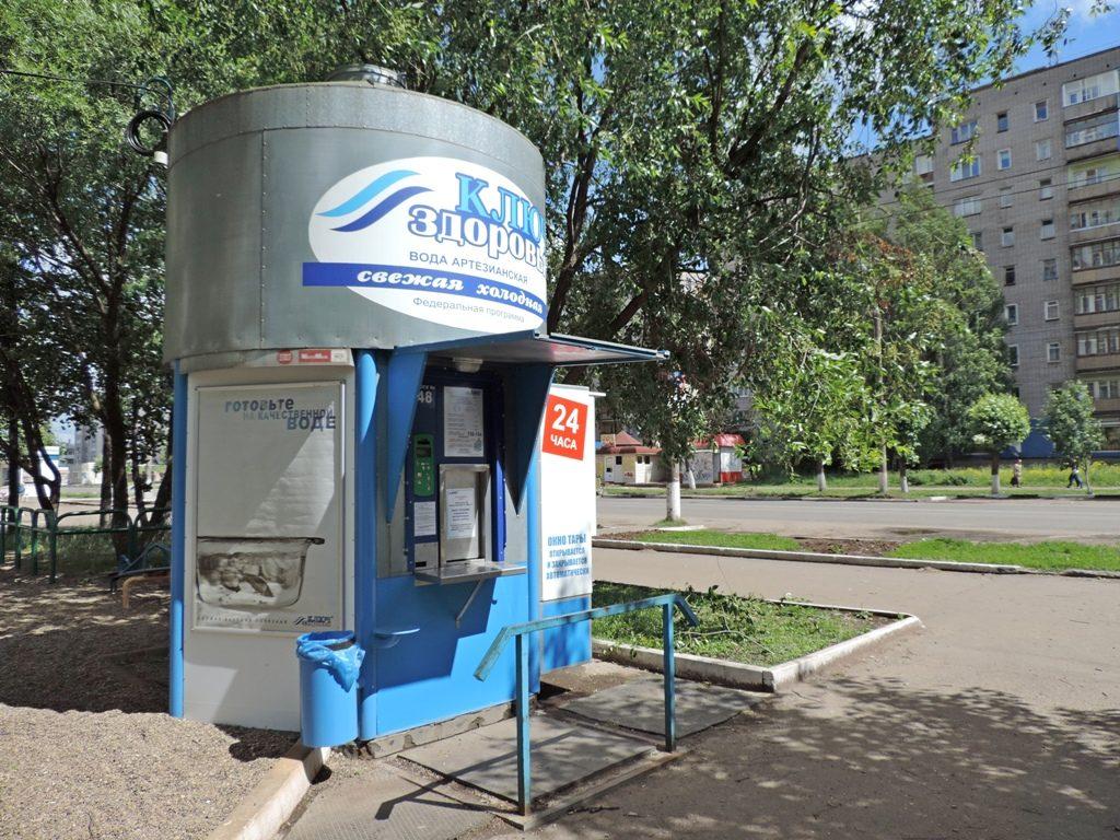 Продажа воды в розлив без ККТ