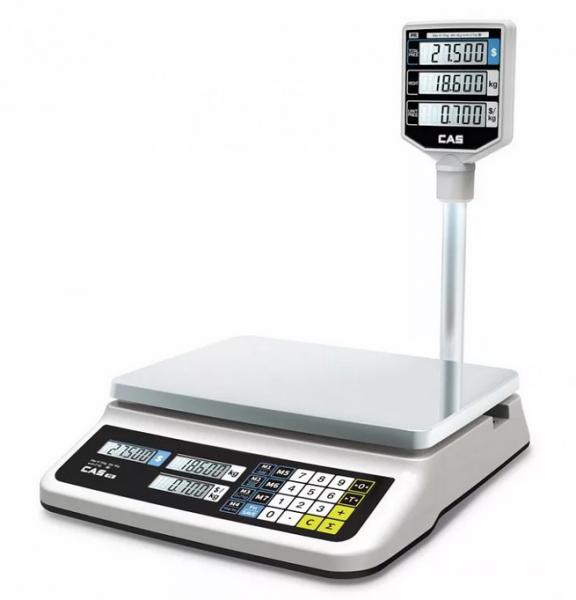 Весы торговые CAS PR-P